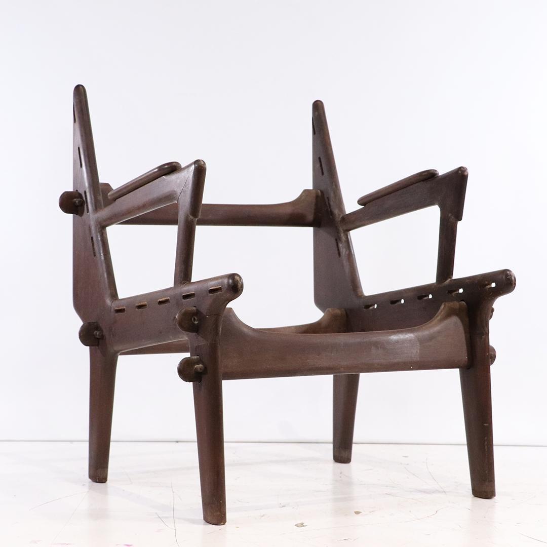 Mid-Century Modern Brazillian Style Chair Frame