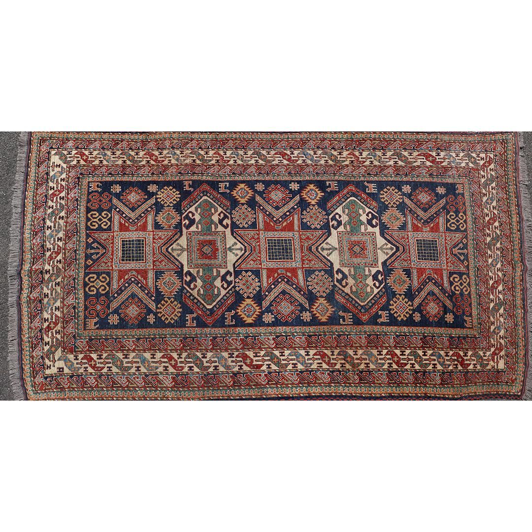 Geometric Design Hand Made Oriental Area Size Rug Wool