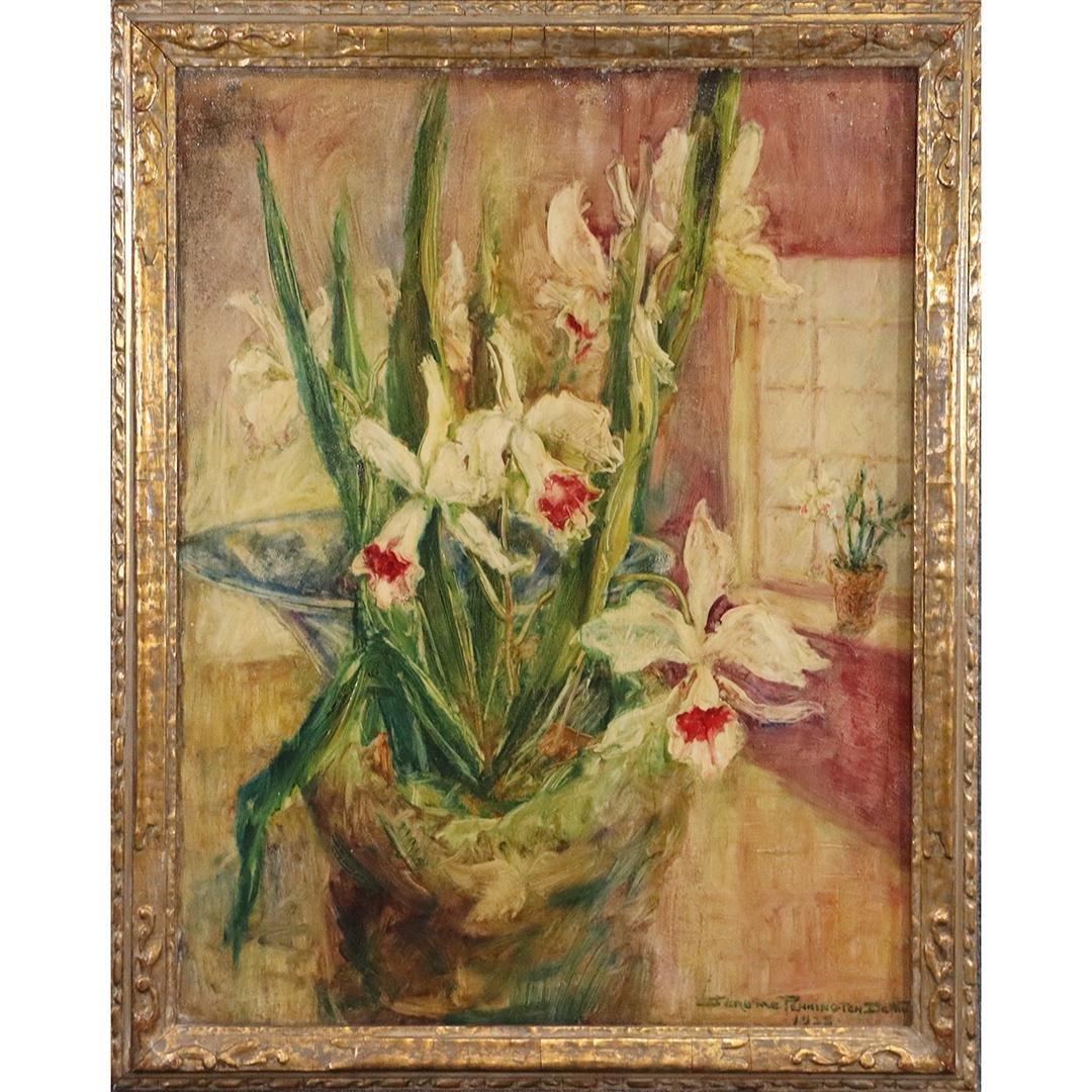Jerome Pennington DeWitt 1928, Quality Still Life Oil o
