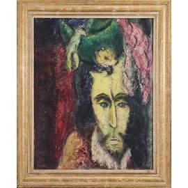 Brightest, Mid-Century Modern Portrait Renaissance Man