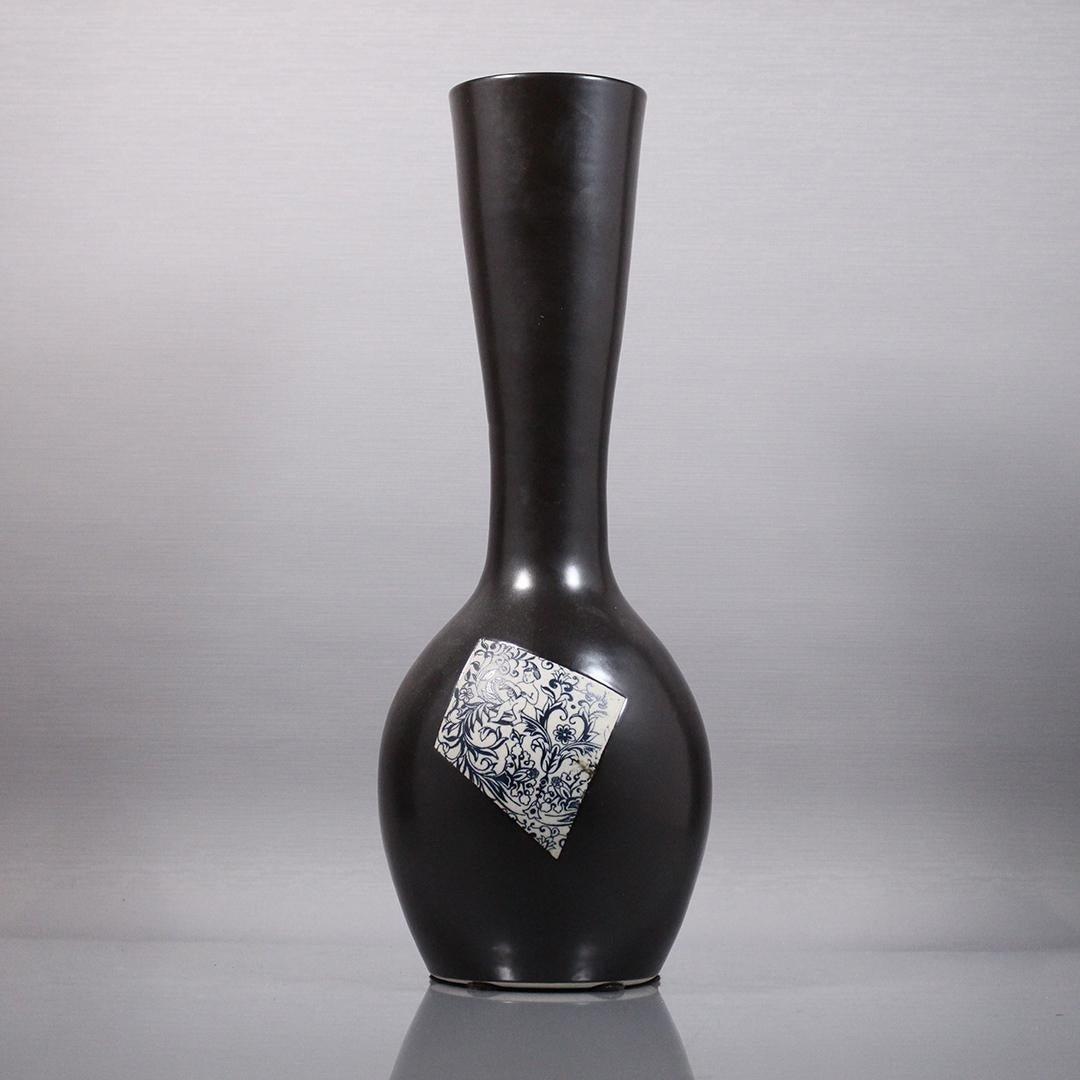 Mid-Century Modern Ceramic Vase - Chinese Modern