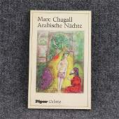 Book Marc Chagall Arabishe Nachte  Illustrated