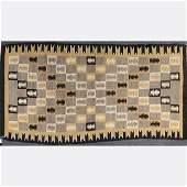 Vintage Native American Indian Wool Rug / Blanket