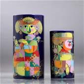 [2] Two Bjorn Wiinblad Rosenthal Studio Linie Vases