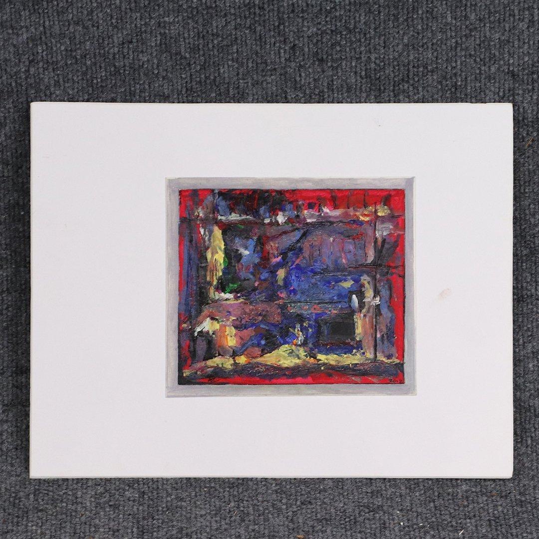 Andrew Zietkiewicz, Polish / American, Abstract Oil