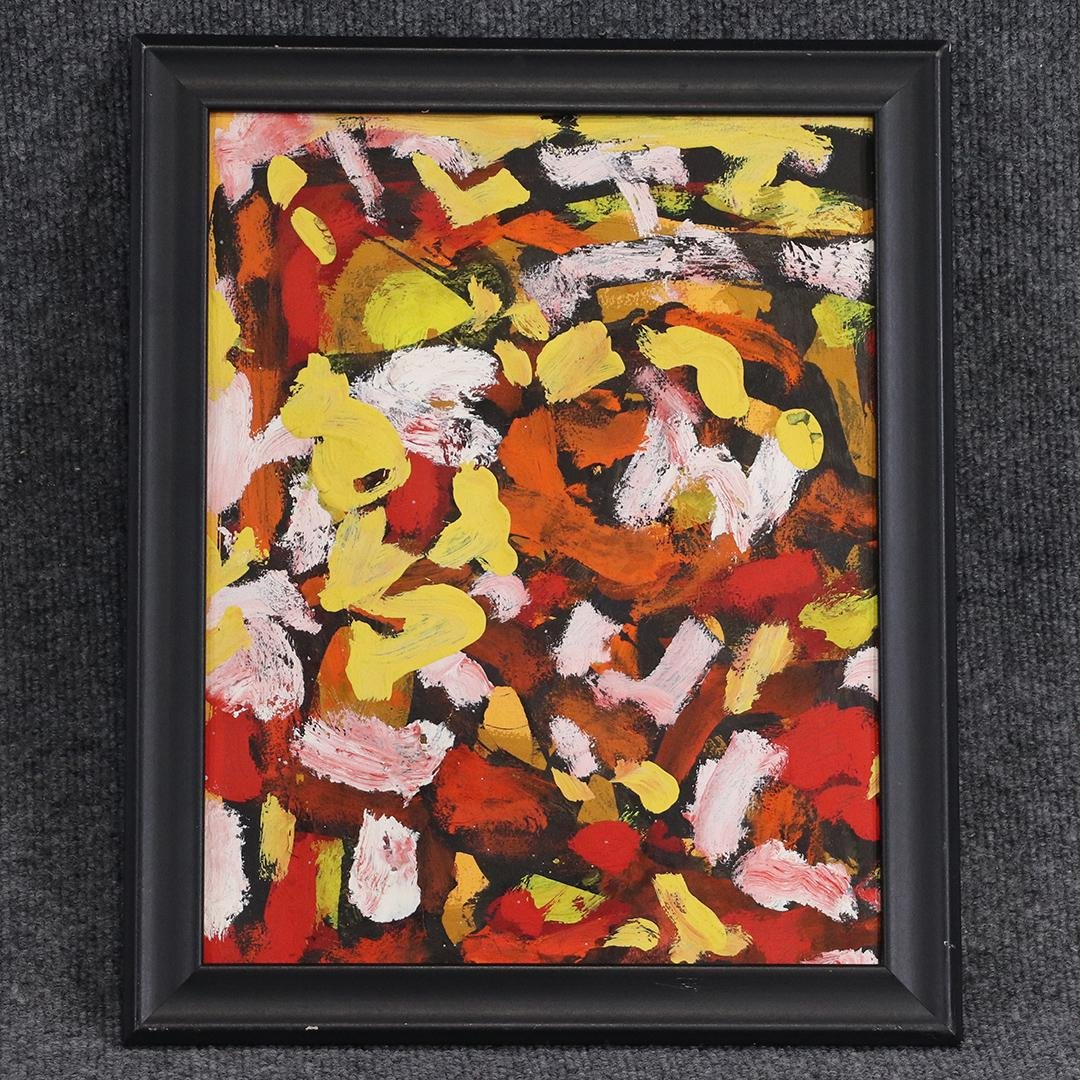 Joan Mitchell Manner Of: Abstract Oil/c Painting