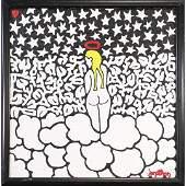 John Fritz, American Pop Art, Angel in Heavenly Clouds