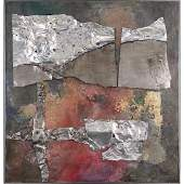 Martha Margulis 1928-2003, Mixed Media Abstract Collage