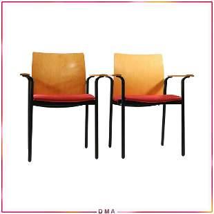 [2] Steelcase Modern Design Arm Chairs