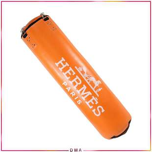 HERMES Paris Martial Arts Punching Bag Store Display
