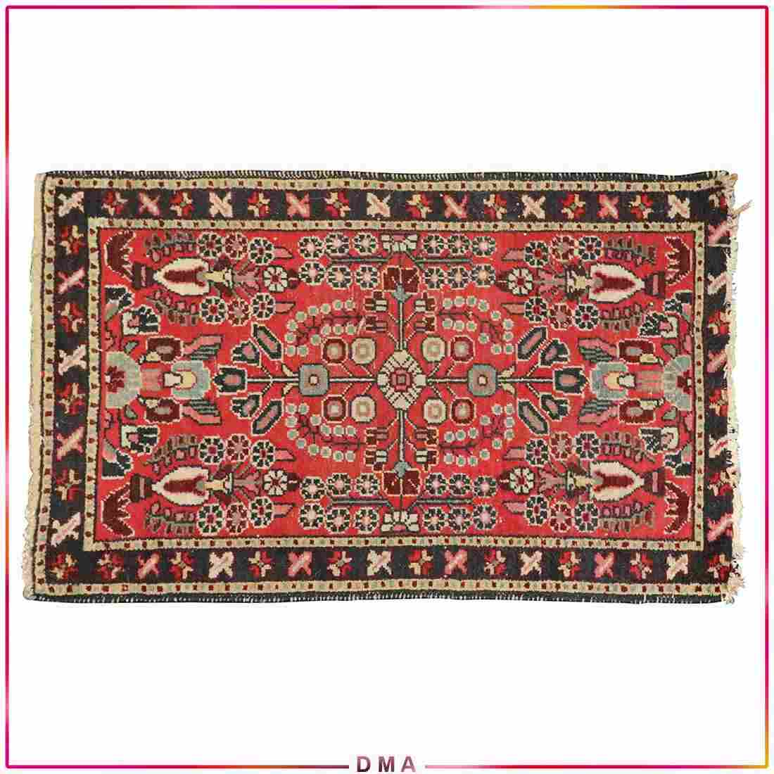 Lilihan Antique Oriental Persian Scatter Rug Hand Made