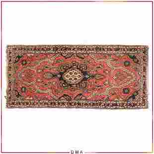 Antique Serapi Oriental Persian Scatter Rug Hand Made