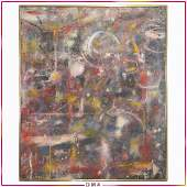 Steven Jennis, American, Abstract Oil Painting