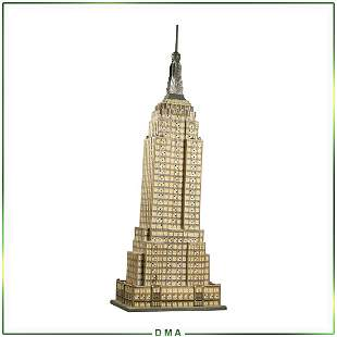 Empire State Building, Lights Up, 24 inches Height