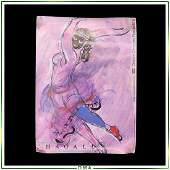 Marc Chagall Poster: Centre Georges Pompidou