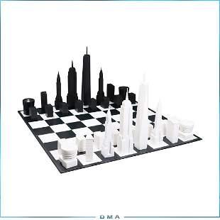 Skyline Chess Set New York City Edition in Box