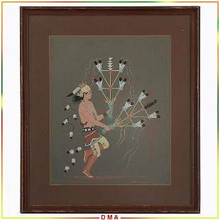 Harrison (Haskay Yahne Yah) Begay (1914 - 2012) Indian