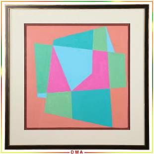 Henryk Stazewski 1894-1988 Polish, Abstract Composition
