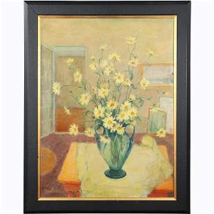 Anne Waldron; 20thC. American Oil Still Life Signed