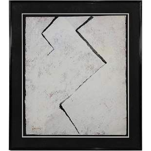 Trant, Modernism Abstract Oil Painting on Board