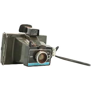 60s Polaroid Colorpack II Land Camera with Pop Art Case
