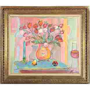 Jehudith [Judyta] Sobel 1924-2012 Polish O/c Still Life