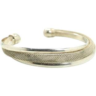 Tiffany & Co .925 Sterling Silver Cuff Bracelet