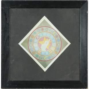 Robert Indiana, Signed #5/50 Lithograph Marlilyn Monroe