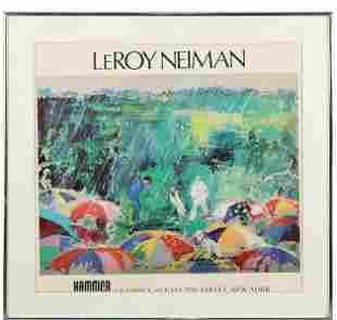 LeRoy Neiman Exhibition Poster Augusta National Golf
