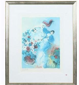"Ben Avram Limited Edition Lithograph ""Wedding"" #162/200"