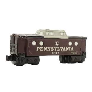 """Lionel Ceramic Train Car Model """"Pennsylvania 6417"""""""
