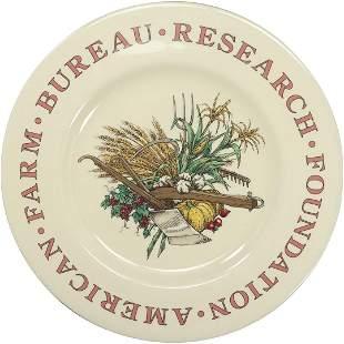 Tiffany & Co 1990 American Farm Bureau Porcelain Plate