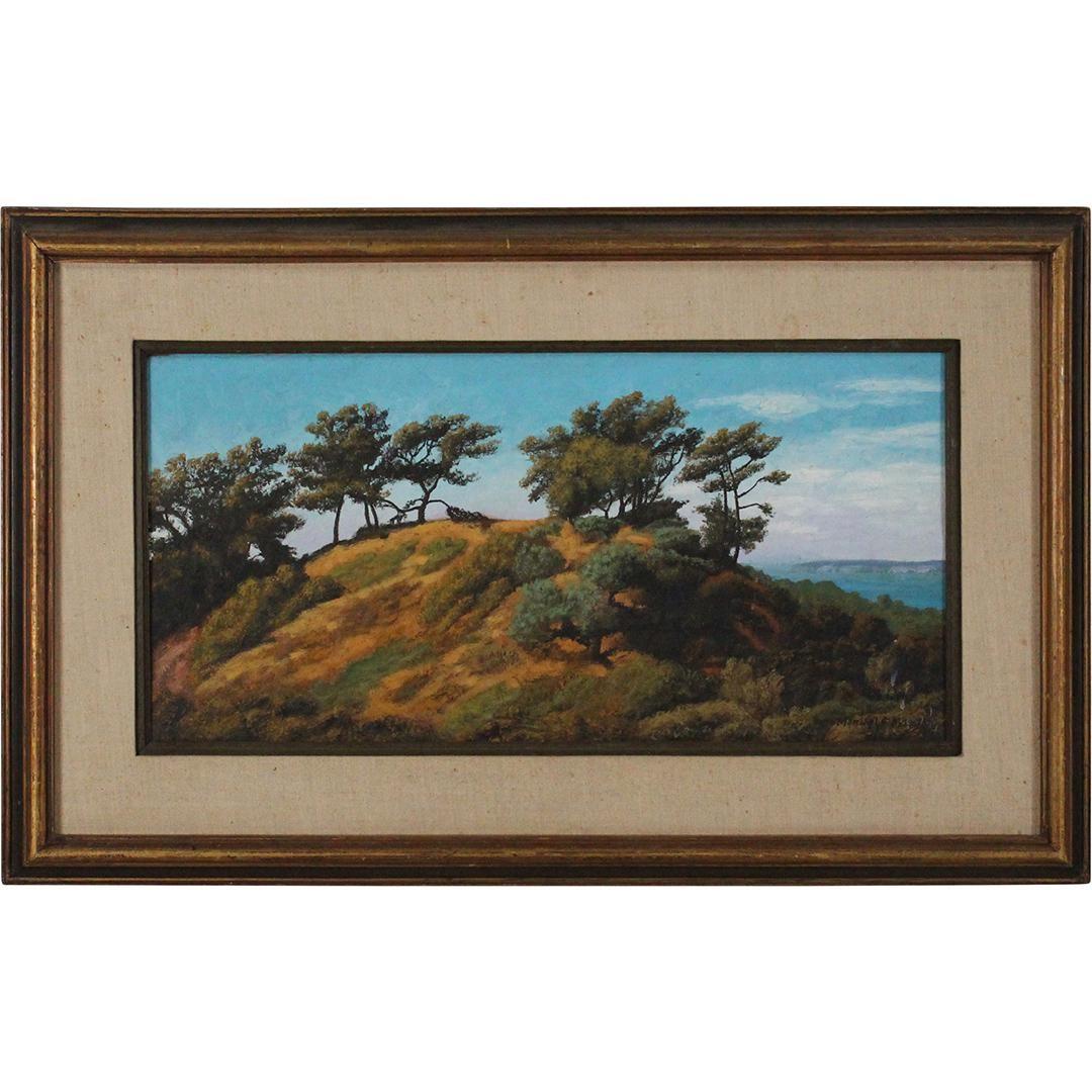 Manuel F Mogeleo 1968, Oil/c California Coastal Trees