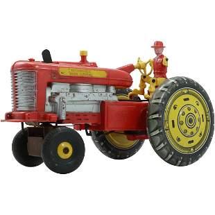 Vintage Toy Tractor Reversible Diesel Electric
