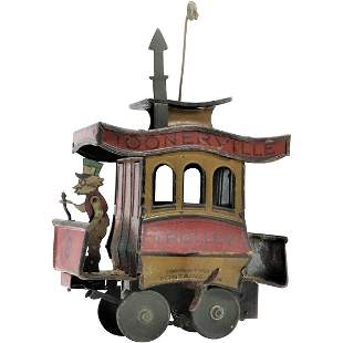 Toonerville Trolley Toy Copyright 1922 Fontaine Fox