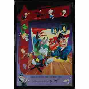 Poster: Cartoon World Bob Clampett Museum Moving Image