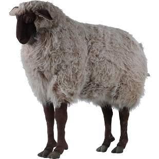 Lifesize Sheep Stuffed Animal Figure