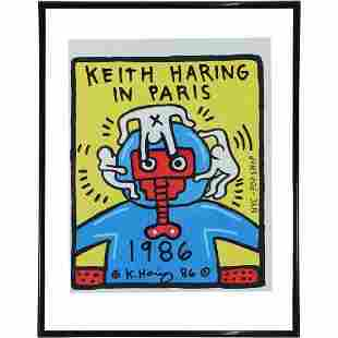 Keith Haring(after); 20thC. Felt -Tip Drawing