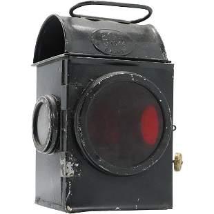 Signal Lantern marked Gcrown R 1944 S.N.L.W. Ltd