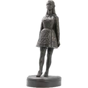 Moorish Woman Statue Sculpture Hard Composition E/750