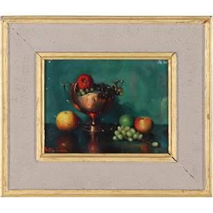 ROBERT SUSAN 1887-1957, Oil/b Quality Fruit Still Life