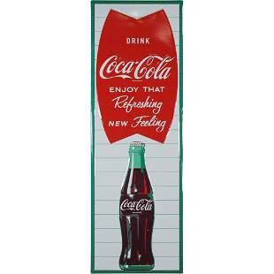 Drink Coca Cola Enjoy That Refreshing New Feeling Sign