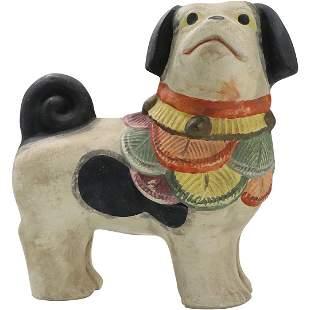 NR c. 1979 Ceramic Pug Dog Figure