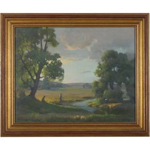 Norma W Dodson, Fine Hudson Valley Landscape Painting