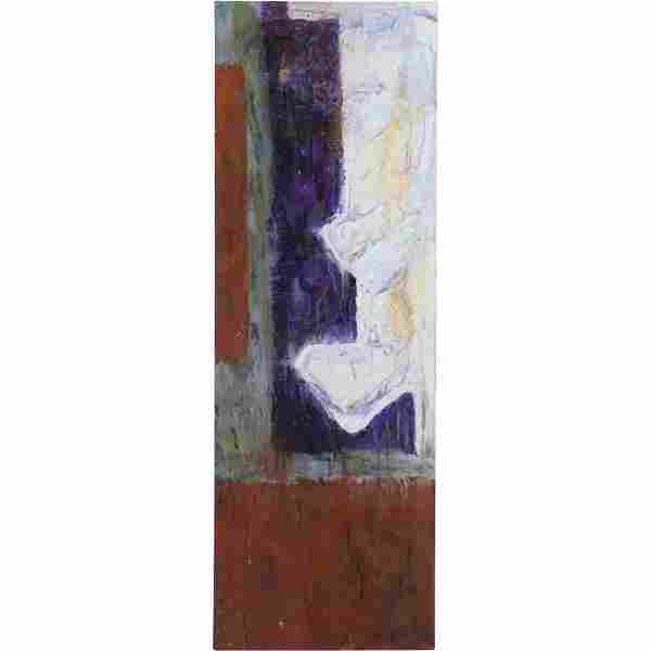 Chris Ritter 1963, American, Mid-Century Abstract Oil/c