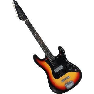 Vintage Starburst Electric Guitar