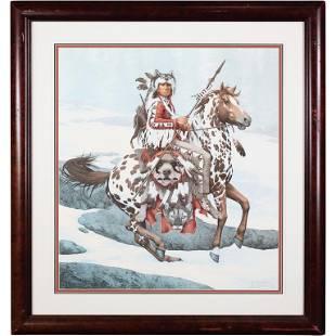 Bev Doolittle #10806/13238 Guardian Spirits Indian