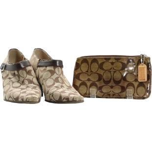 COACH Ladies Shoes and COACH Clutch Purse