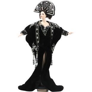 ERTE Stardust Porcelain Doll in Original Box Second Ed.