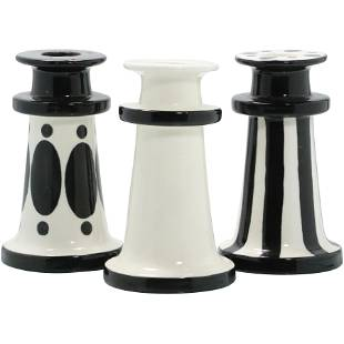 [3] Frederic De Luca Paris Ceramic Candlesticks
